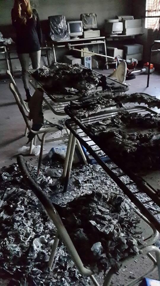 escuela ciudad evita quemada
