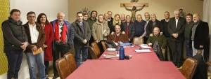 Miembros de la Mesa de Diálogo de La Matanza en su segunda reunión (1)