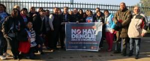 Campaña para erradicar al mosquito vector de los virus de dengue, zika y chikunguya.