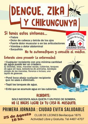 campaña dengue